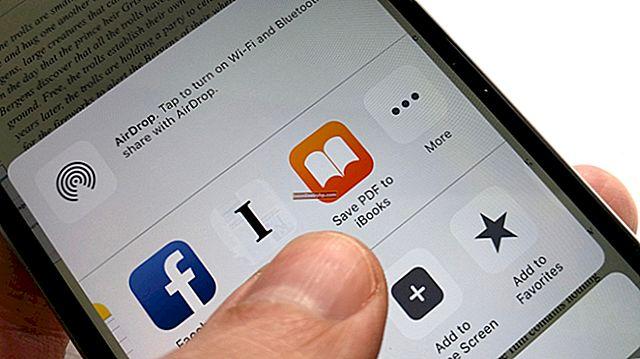 Come aprire un documento in iBooks su un iPad