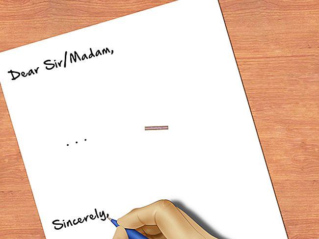 Come terminare una lettera aziendale