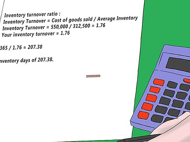Come calcolare il fatturato dell'inventario e l'offerta di inventario in giorni medi