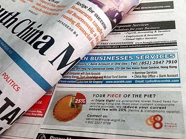 Come scrivere un buon annuncio per il giornale