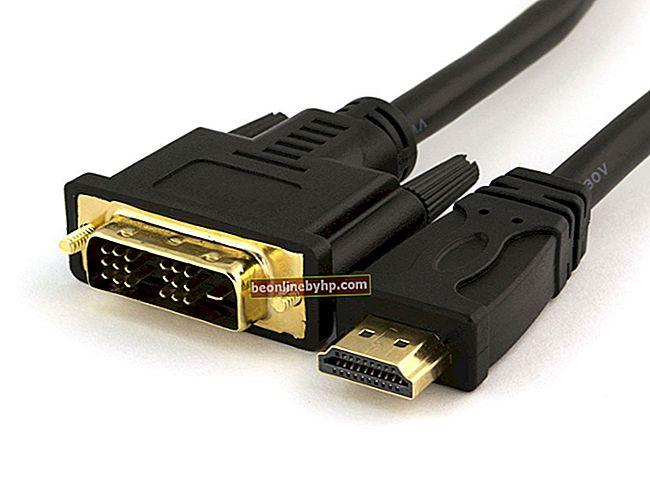 Conversione da HDMI a DVI-D