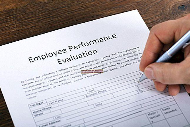 Criteri per una valutazione dei dipendenti