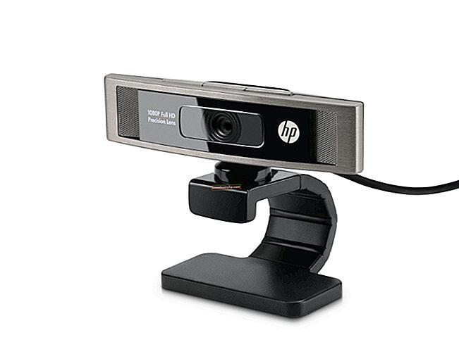 Как да отстранявате проблеми с уеб камера на HP