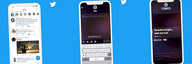 Как да получите геолокации в Twitter от публични туитове