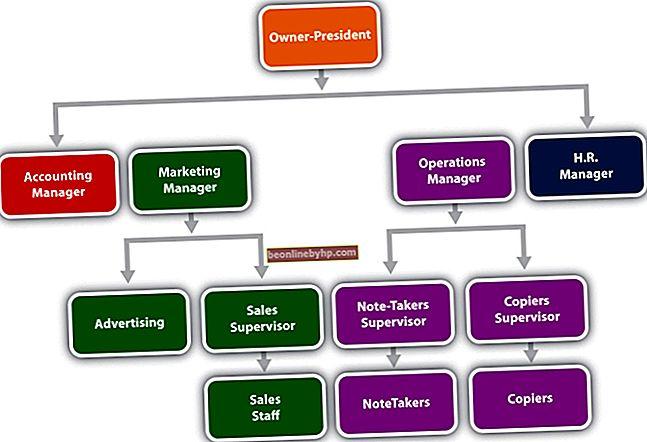 Структура на отчитане на компанията