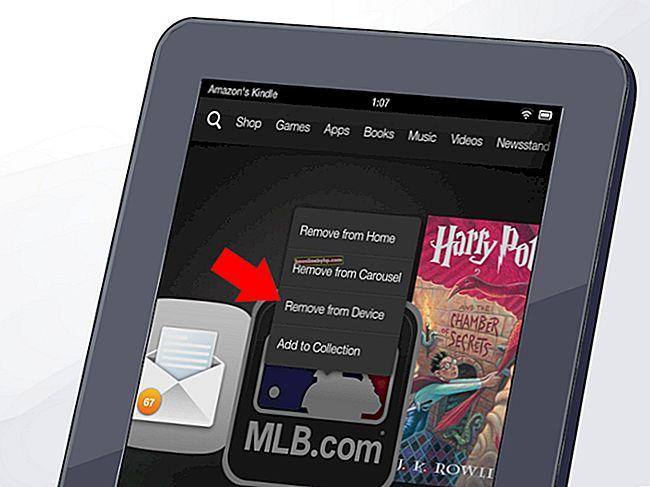 Как да отмените регистрацията на Kindle